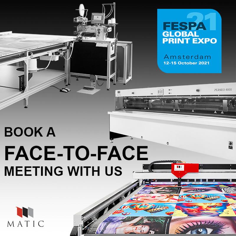 Matic en FESPA's Global Print Expo