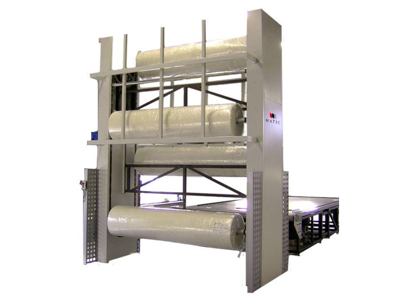 Matic Atlas V Vertical Roll Storage Carousel
